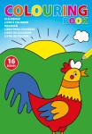 Kleurboek voor kinderen (A4 formaat).