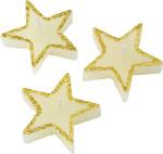 Kaars in de vorm van ster, set van 3