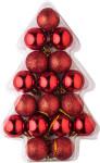 Kerstballen, 17 stuks