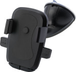 Plastic adjustable mobile phone holder for in a car