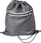 Polyester (600D) waterproof drawstring backpack