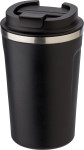 Stainless steel double-walled mug