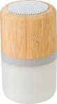 Wireless Lautsprecher aus Bambus