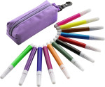 Small felt tip pens, 12pcs