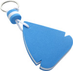 EVA sail ship shaped, floating key chain