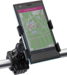 Supporto bicicletta per smartphone, in ABS