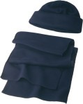 Set cappello e sciarpa in pile 200gr/m²
