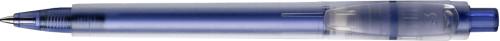 Stilolinea Oslo frosty plastic ballpen blue