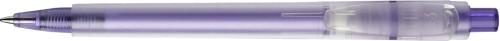 Stilolinea Oslo frosty plastic ballpen purple