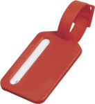 Polystyrene luggage tag