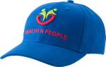 Cappellino con visiera a 6 pannelli