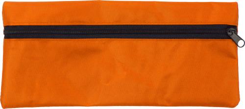 Pennenetui oranje | met opdruk