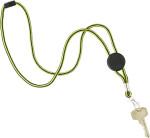 Nylon key cord inclusief metalen haak