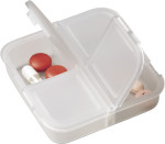 Square pill box