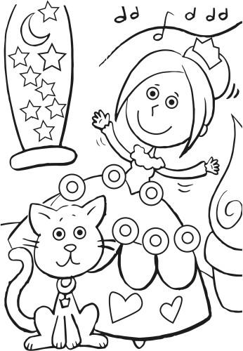 Libro infantil para colorear | IMPRESSION