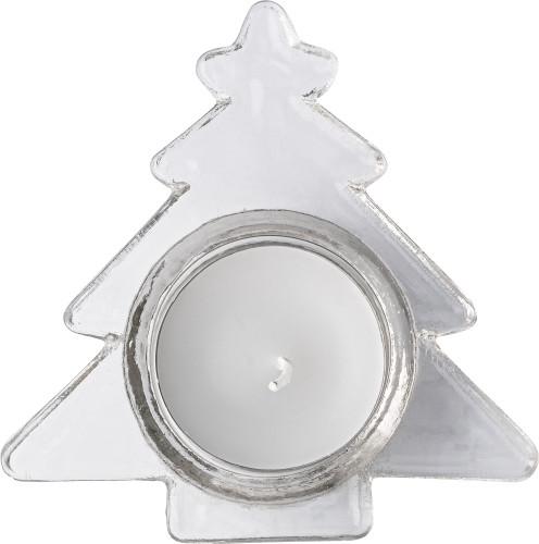 Waxinelichthouder in de vorm van een kerstboom 4896-021999999 Bedrukken
