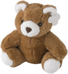Teddy bear in a plush material