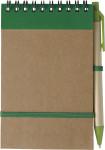 Notizbuch 'Pocket' aus recyceltem Karton