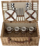 Picnic basket for 4 people.