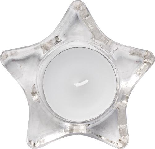 Waxinelichthouder in de vorm van een ster 5836-021999999 Bedrukt