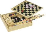 Wooden 5-in-1 game set