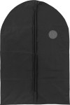 PEVA garment bag with a zipper