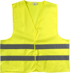 High visibility promotional safety jacket.