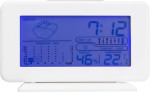 Plastic digital weather station.