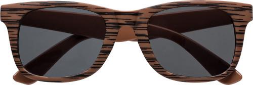 godkännandepriser utsökt design Toppkvalité Solglasögon med trämönster. UV400-skydd.   IMPRESSION