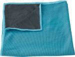 Nylon pouch with sports towel