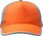 Cappellino con visiera 5 panelli