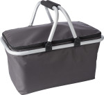 Polyester (320-330gr) foldable shopping basket