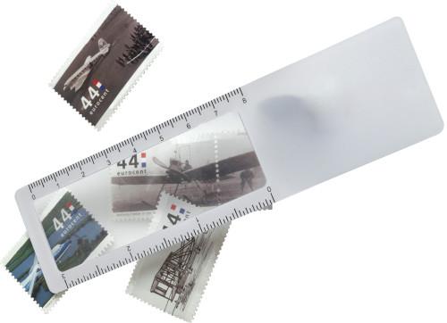 PVC 2-in-1 ruler