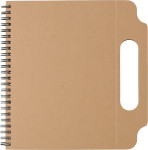 Notizbuch 'Sticki' aus recycelter Pappe