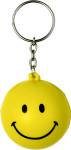 Anti stress key holder smiling face
