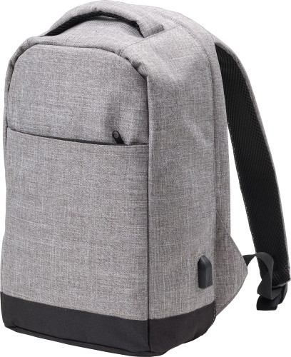 Anti-stöld ryggsäck i polyester (600D) anthracite
