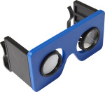 Foldable plastic virtual reality glasses