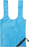 Foldable polyester (210D) carry/shopping bag