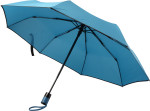Foldable automatic storm umbrella