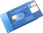 Portacarte di credito in plastica