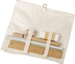 Cotton stationary set