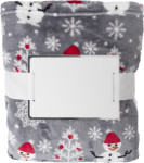 Flannel fleece snowmen blanket (260 gr/m2)