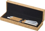 Cork writing set