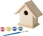 Vogelhaus 'Colibri' mit Malset