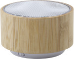 Speaker wireless in bamboo ed ABS