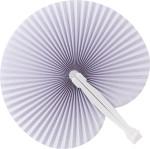 Paper hand held fan