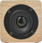 Speaker wireless, singolo altoparlante, in legno
