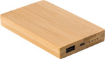 Powerbank 'Bamboo Power 1' aus Bambus