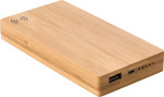 Power Bank in bamboo