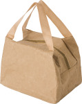 Kraft paper cooler bag